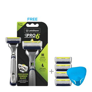 LetsShave | LetsShave  Pro 6 Advance Value Set
