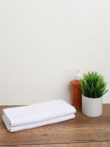 OCTAVE | Face Towel WHITE