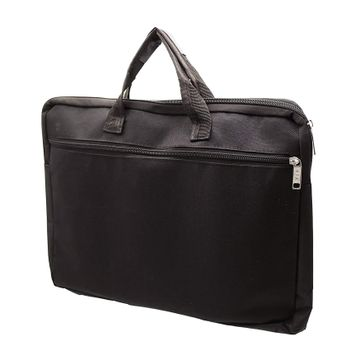 iLife   iLife A3 Legal Zippered Business Document Bag for Multi-Purpose Usage Use for Files Folder Good in Meeting (Black)