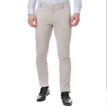 TAHVO | Grey TAHVO Men casual trousers