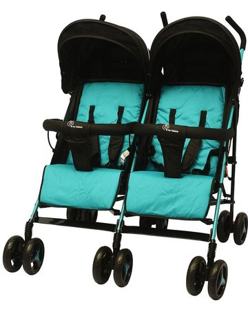 Mothercare | R For Rabbit Ginny And Johnny Twin Strollers & Prams Black
