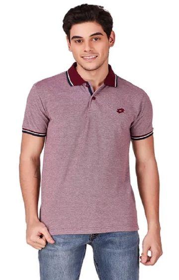 Lotto | Lotto Men's L73 Polo Plus Red Cha T-Shirt
