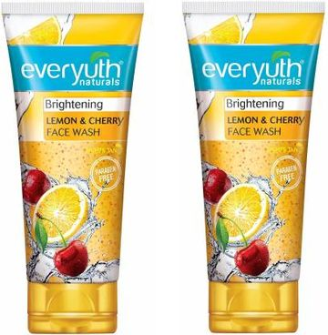 Everyuth Naturals | Everyuth Naturals Lemon & cherry Face Wash (50mlx2)