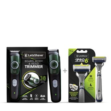 LetsShave | LetsShave Trim and Shave Combo