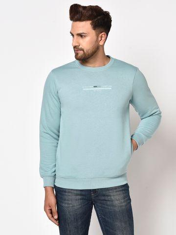 OCTAVE | Men LIGHT TEAL Sweatshirts