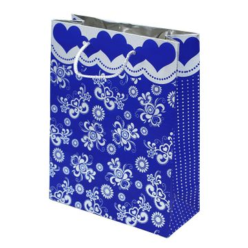 iLife | iLife Gift Bags -12 Pcs Paper Bags with Handles Bulk, Shopping Bags Retail Bags, Shopping,Parties,Wedding, Baby Shower, Birthdays, Father's Day, Holidays and More Paper Gift Bags Blue