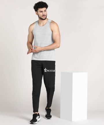 Picstar | Picstar Skie Black Men's Trackpants