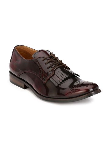 Lujo | Lujo Entreaty handmade Brogue Shoes - Cherry