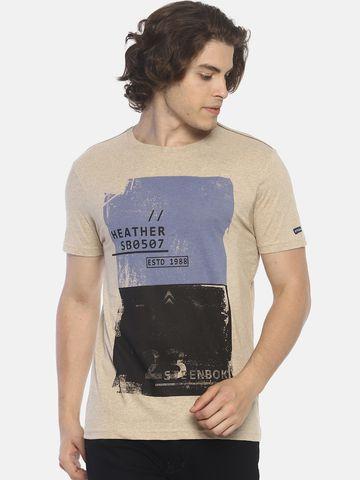 Steenbok | Men's Printed Crew Neck T-Shirt
