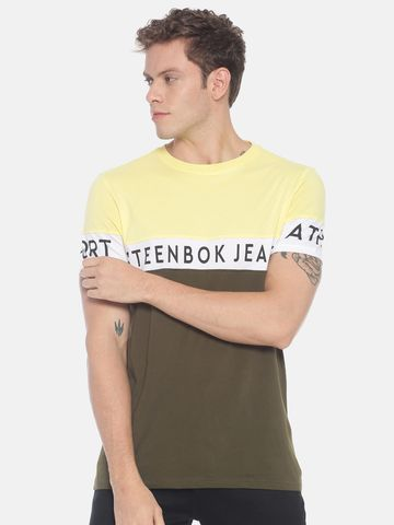 Steenbok | Men's Colour Block Basic tees