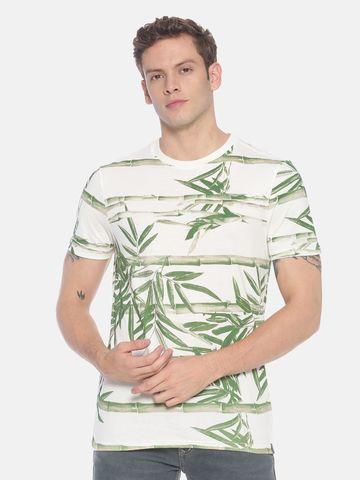 Steenbok | Men's Allover Printed Round Neck T-shirt