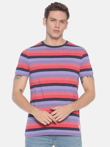 Steenbok | Men's Striped Basic t-shirt