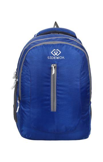 SIDEWOK   SIDEWOK Casual Multi-purpose Blue 35LTR Backpack