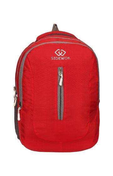 SIDEWOK | SIDEWOK Casual Multi-purpose Red 35LTR Backpack
