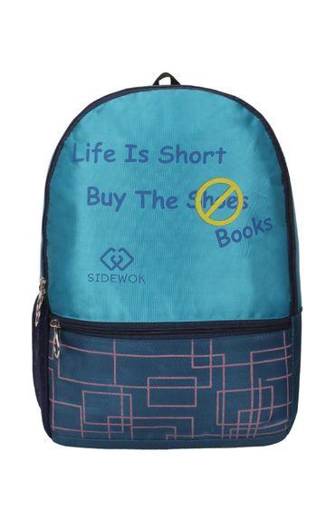 SIDEWOK   SIDEWOK Casual Multi-purpose Blue 32LTR Backpack