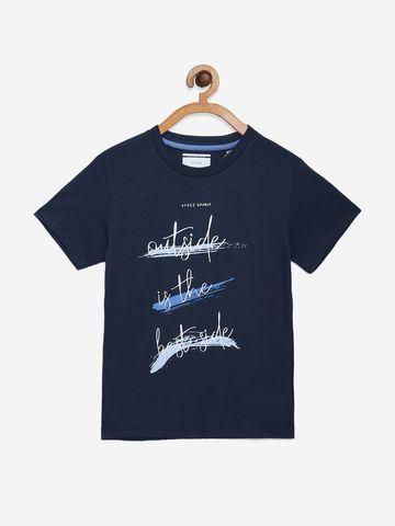 OCTAVE | Boys INDIGO T-Shirts