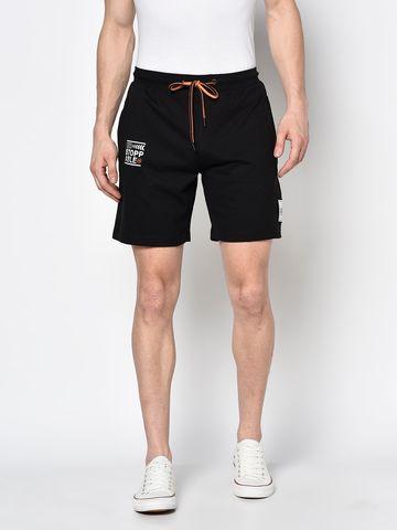 OCTAVE   Men BLACK Shorts