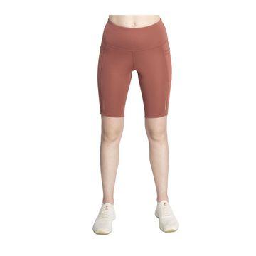 SilverTraq | Women's Biker Shorts Marsala
