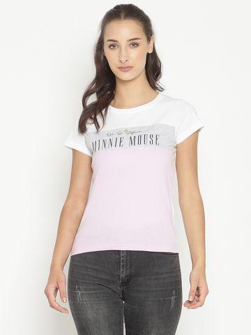 METTLE   Women LAVENDER T-Shirts