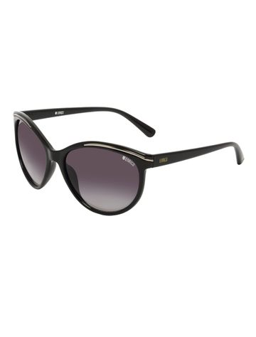 ENRICO | ENRICO Hazard UV Protected Cateye Sunglasses for Women ( Lens - Purple | Frame - Black)