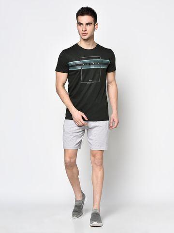 OCTAVE   Men GREY MELANGE Shorts