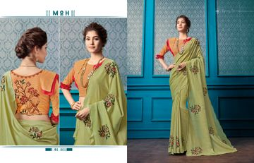SATIMA | Silk BlendThread Work with Sequence work