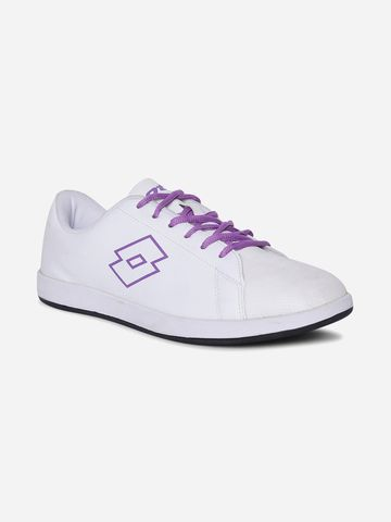 Lotto | Lotto Women's Plump II W White/Voilet Lifestyle Shoes
