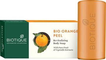 Biotique Advanced Ayurveda | BIOTIQUE BIO ORANGE PEEL Revitalizing Body Soap  (150 g)