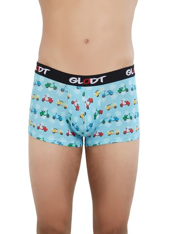 GLODT | Mens Boys Scooter Print Pima Cotton Trunks