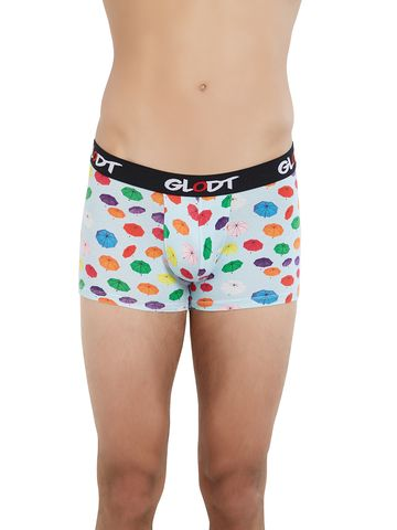 GLODT | Mens Boys Umbrella Print Pima Cotton Trunks