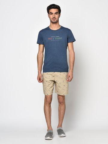 OCTAVE   Men BEIGE Shorts