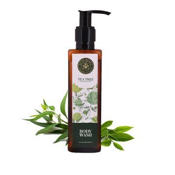 LUXURIATE | LUXURIATE 100% Natural Purification of Skin Tea Tree Body Wash Shower Liquid for Men and Women,200 ml