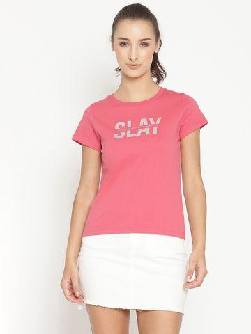 METTLE | Women RASPBERRY T-Shirts