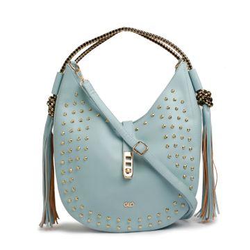 globus | Globus ice blue Hobo Bag