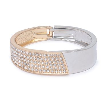 globus | Globus Gold and Silver Cuff