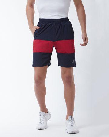Masch Sports | Masch Sports Men's Gym Shorts Regular Fit Polyester (MSSH-0619-CS-FMP-NBR-S_Navy Blue_S)