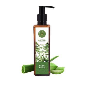 LUXURIATE | LUXURIATE Aloe Vera Body Wash Shower Liquid for Rejuvenation of Skin for Men and Women,200 ml