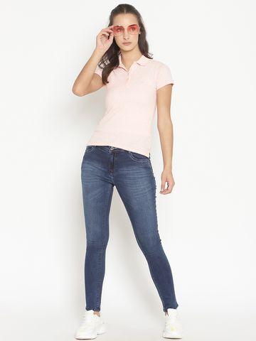 METTLE   Women MEDIUM BLUE Jeans