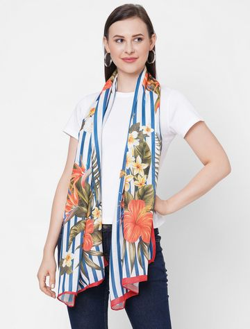 Get Wrapped | Get Wrapped Digital Printed Scarves in Soft wool feel fabric for Women