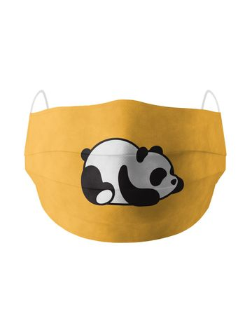 Soxytoes | Soxytoes Yellow Stylish Protective Washable Mouth Cover Face Mask