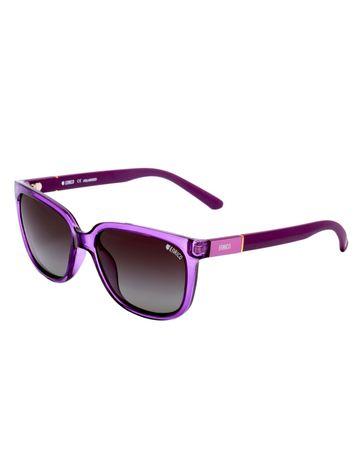 ENRICO   ENRICO Nuts UV Protected Wayfarer Sunglasses for Women ( Lens - Black   Frame - Purple)