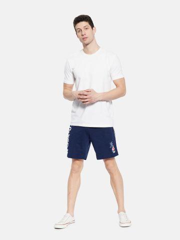 OCTAVE   Men INDIGO MELANGE Shorts