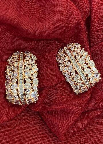 Swabhimann Jwellery | Swabhimann Jwellery Artica Studs Rose Gold