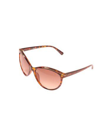 ENRICO | ENRICO Hazard UV Protected Cateye Sunglasses for Women ( Lens - Red | Frame - Brown)