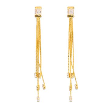 globus | Globus Gold Long Earring