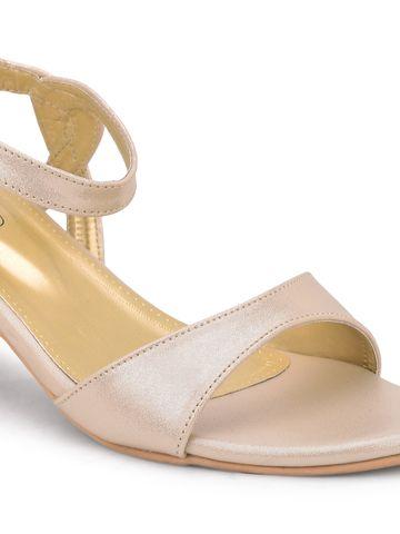 SALARIO | Salario Textured Strappy Chunky Heeled Sandals