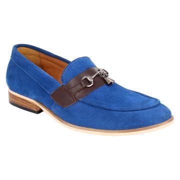 Lujo | LUJO Cachet handmade Loafer - Blue