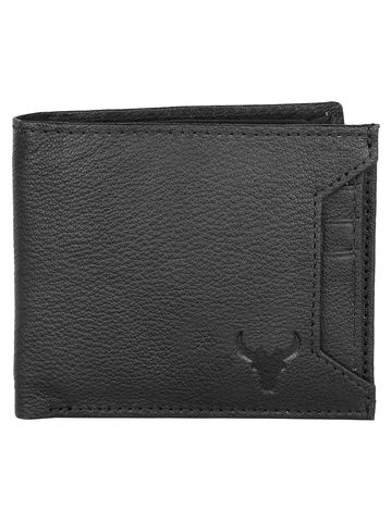 Napa Hide | Napa Hide RFID Protected Genuine High Quality Black Leather Wallet For Men