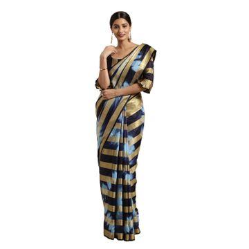 SATIMA | Multi Cotton Shibori Print wih Woven Zari