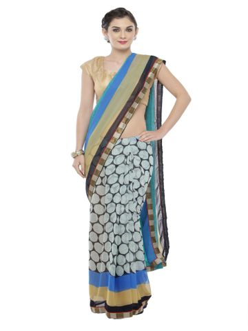 SATIMA | Satima MultiGeorgettePrinted Saree